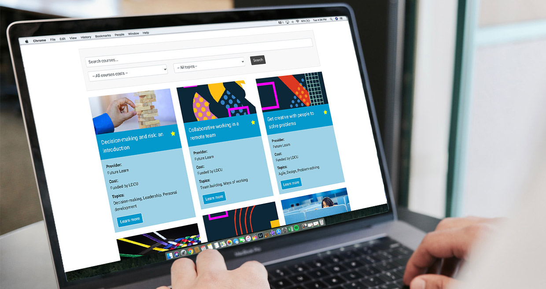 local digital training library